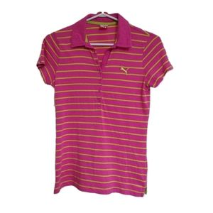 PUMA Sport Lifestyle Striped Polo Shirt